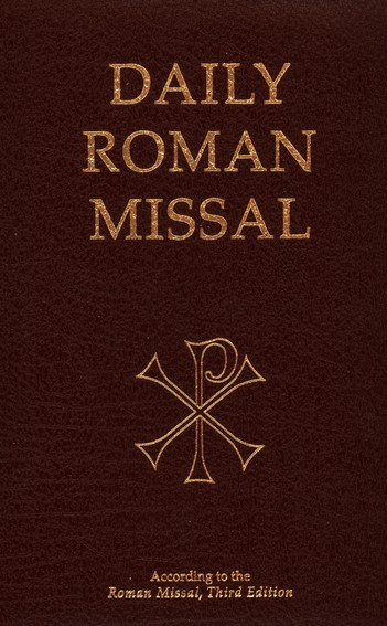 Daily Roman Missal: Third Edition, Burgundy Padded Leather