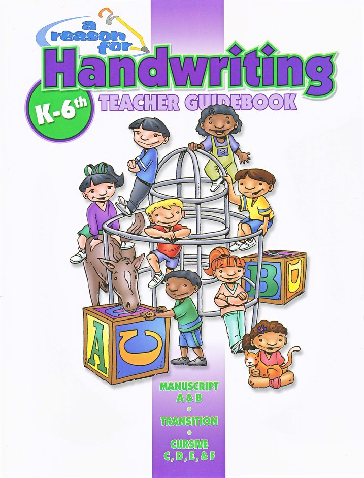 A Reason for Handwriting, Level E: Cursive, Complete Homeschool Set