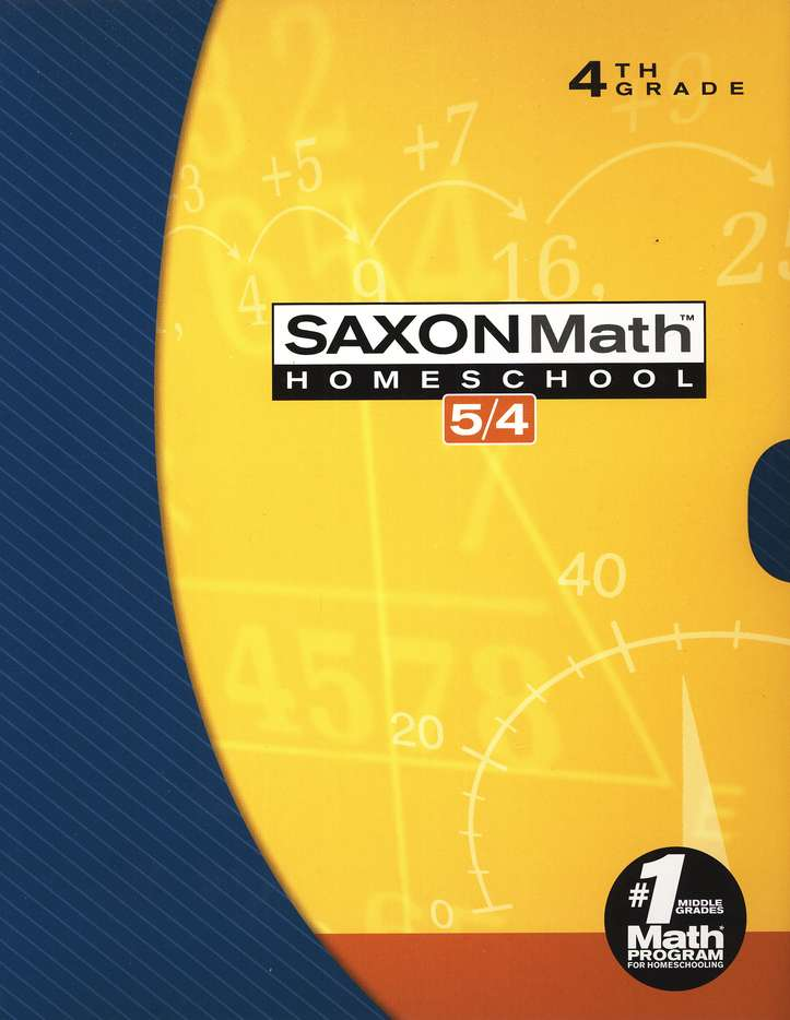 Saxon Math 54 HS Kit in a Retail Box (3rd Edition)