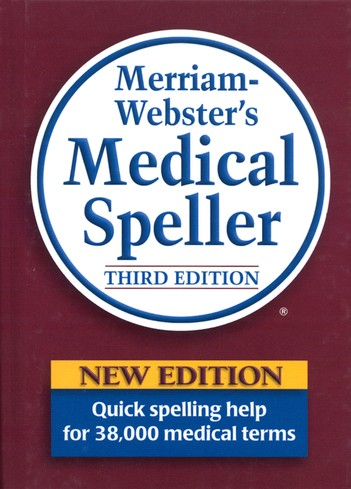 Webster's Medical Speller, Third Edition