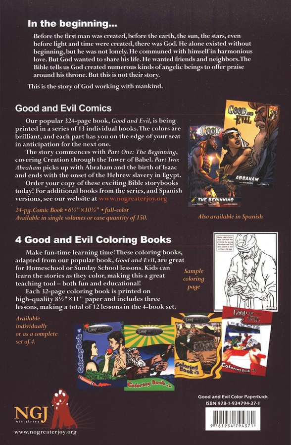 Good and Evil: The Bible As Graphic Novel