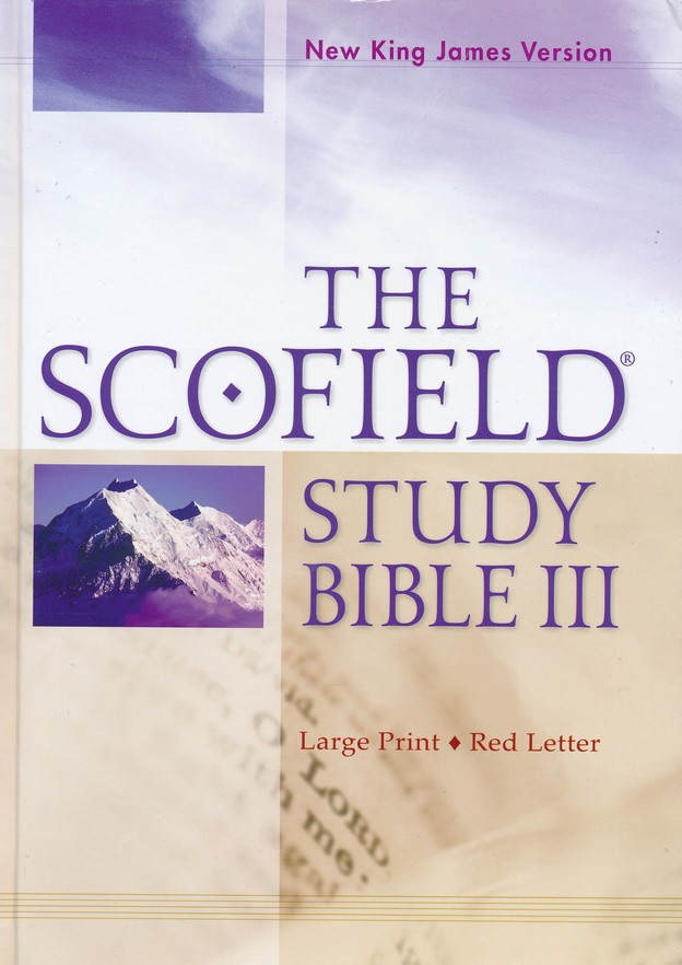 NKJV Scofield Study Bible III, Largeprint, Hardcover