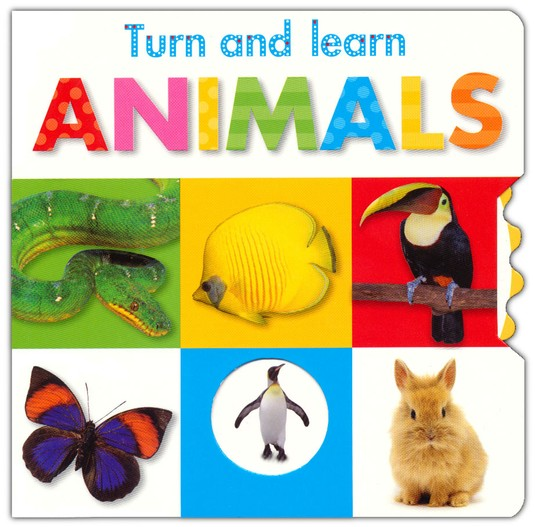 Turn And Learn: Animals