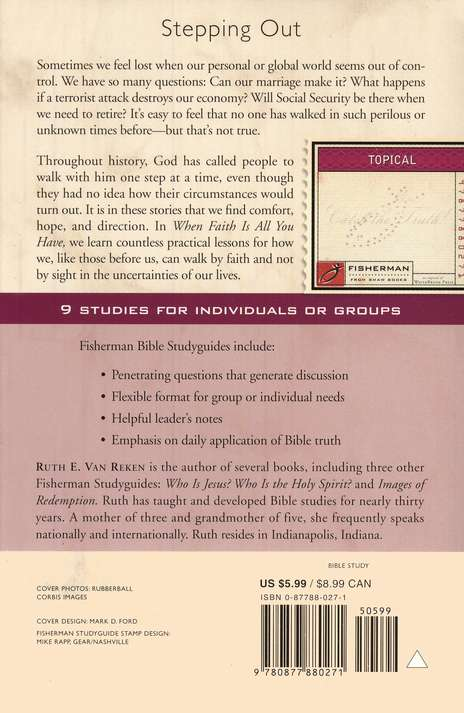 When Faith is All You Have: A Study of Hebrews 11,  Fisherman Bible Studies