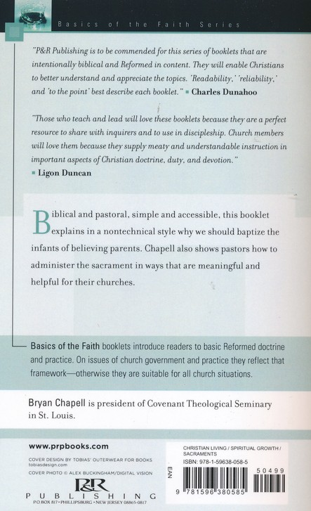 Why Do We Baptize Infants? (Basics of the Faith)