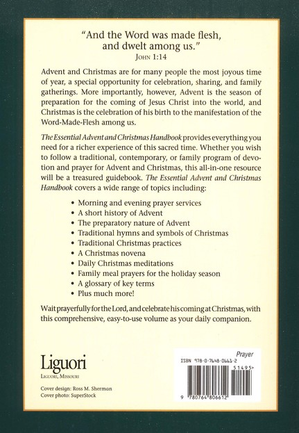 The Essential Advent and Christmas Handbook:  A Daily Companion