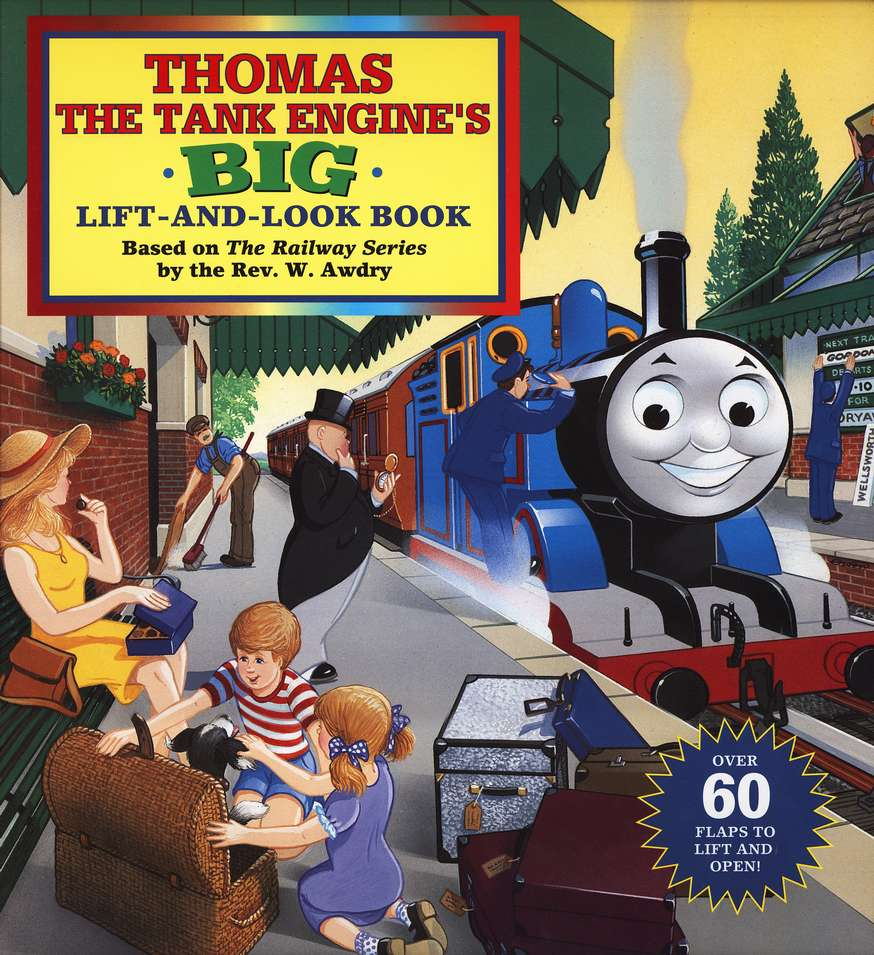 Thomas the Tank Engine's Big Lift-And-Look Board Book