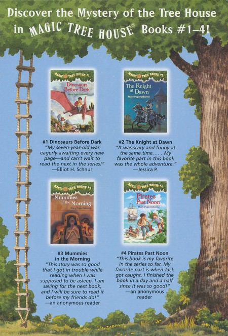 Magic Tree House: Books 1-4 Boxed Set