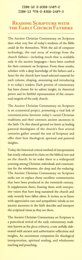 John 1-10: Ancient Christian Commentary on Scripture [ACCS]