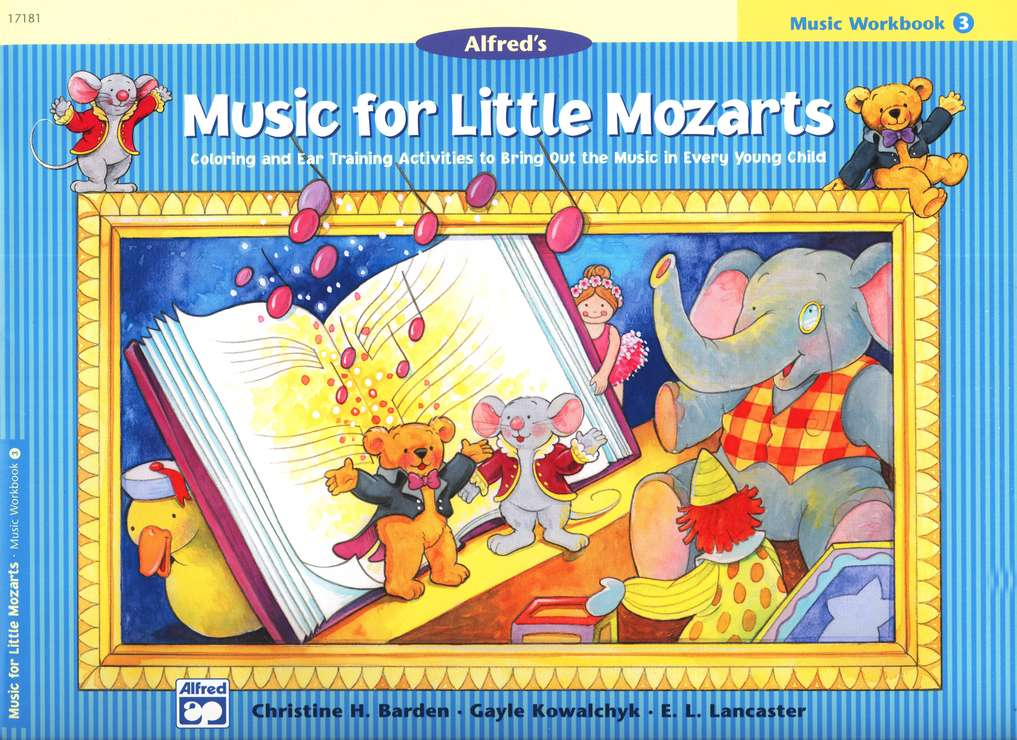 Music for Little Mozarts, Music Workbook, Book 3