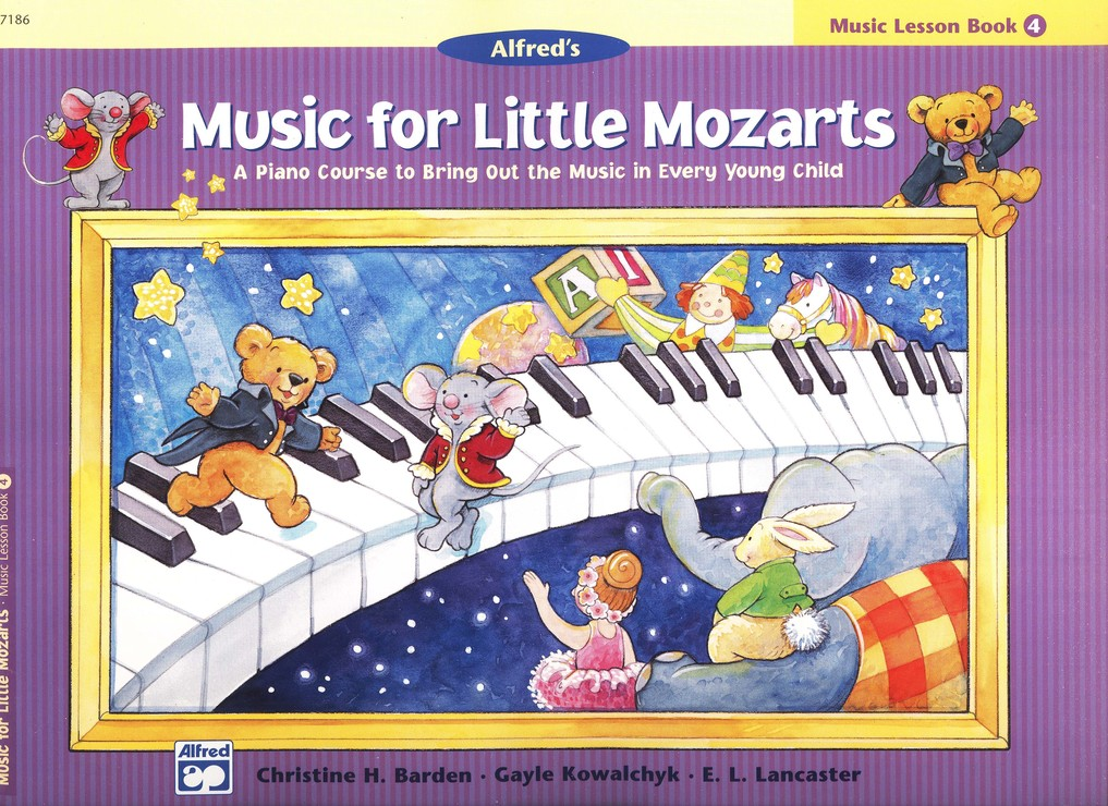 Music for Little Mozarts, Music Lesson Book 4