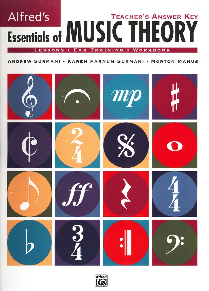 Essentials of Music Theory, Teacher's Answer Key, Books 1-3