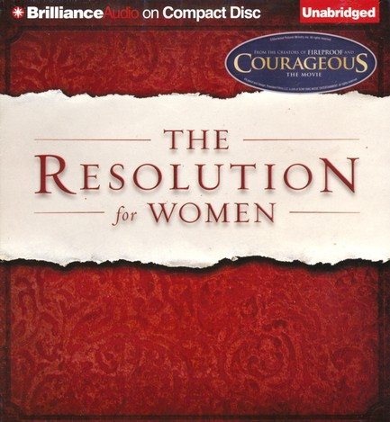 Resolution for Women unabridged audio CD