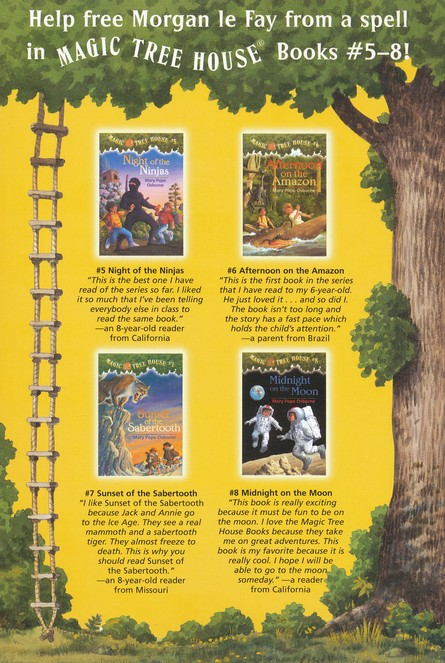 Magic Tree House: Books 5-8 Boxed Set