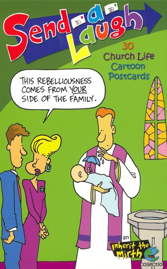 30 Church Life Cartoon Postcards