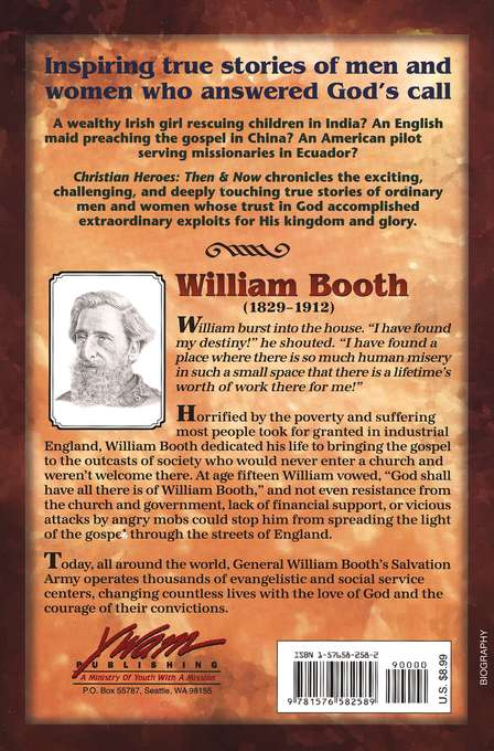 Christian Heroes: Then & Now--William Booth: Soup, Soap, and  Salvation