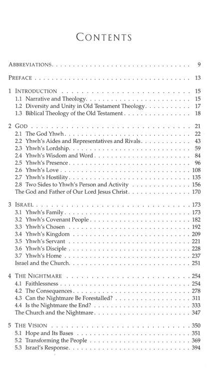 Old Testament Theology Vol. 2, Israel's Faith