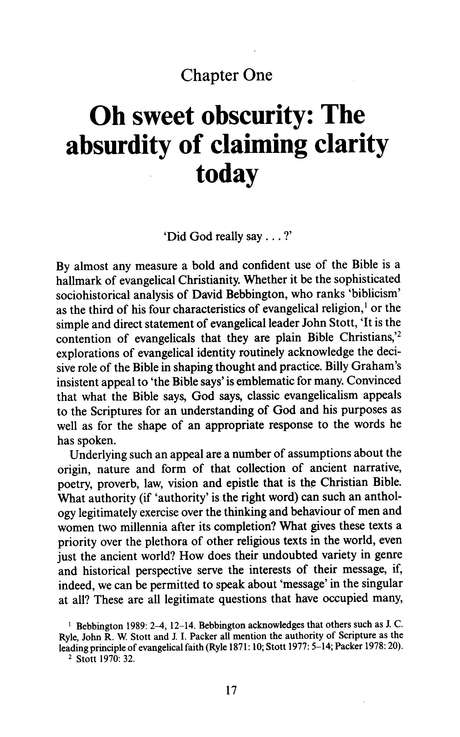 A Clear and Present Word: The Clarity of Scripture  (New Studies in Biblical Theology)