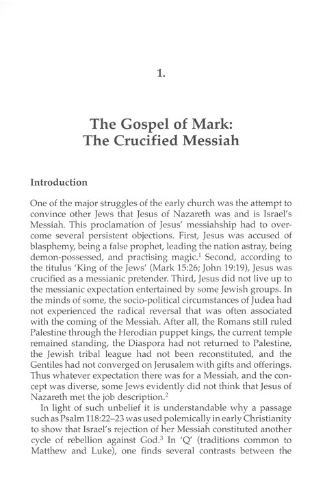 Jesus Is the Christ: The Messianic Testimony of the Gospels