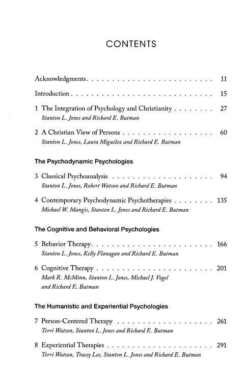 Modern Psychotherapies: A Comprehensive Christian Appraisal, 2nd edition