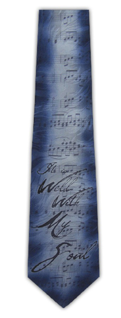 It is Well with My Soul Silk Tie