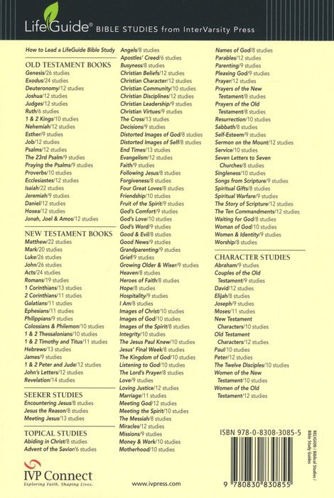 God's Love: Knowing God Through the Psalms LifeGuide Scripture Bible Studies