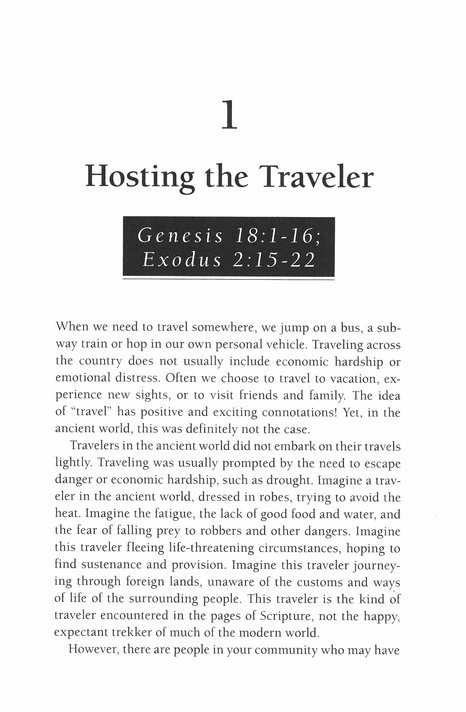 Hospitality, LifeGuide Topical Bible Studies