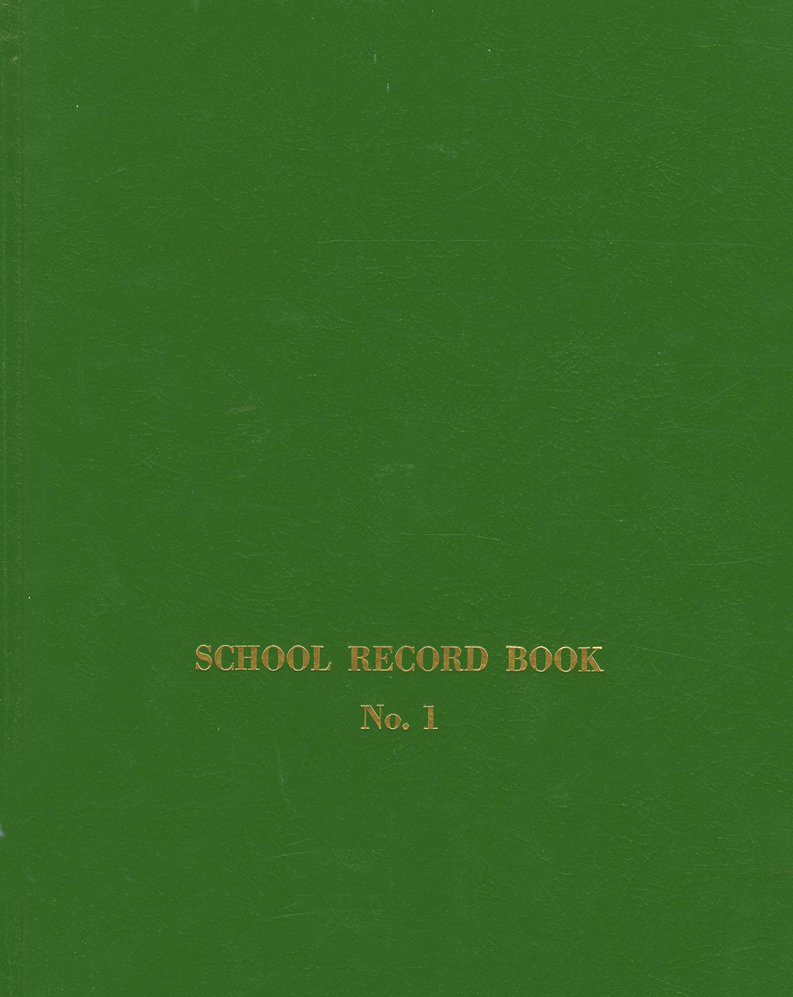 Sunday School Record Book--No. 1