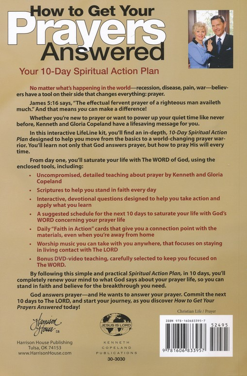 How To Get Your Prayers Answered: Your 10-Day Spiritual Action Plan--Book with CD and DVD
