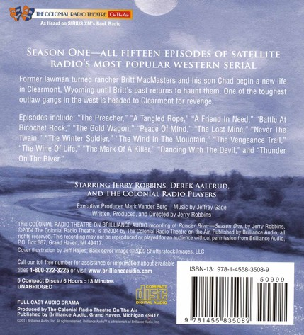Powder River - Season One: A Radio Dramatization on CD