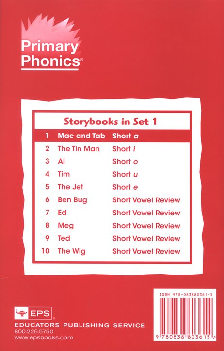 Set of 10 Storybooks for Workbook 1