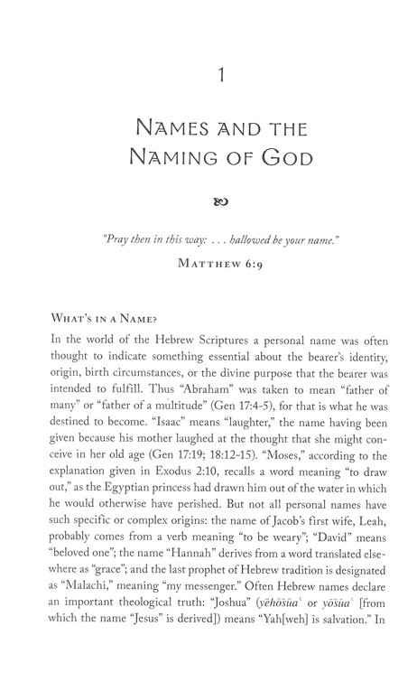 The Unfolding Mystery of the Divine Name: The God of Sinai in Our Midst