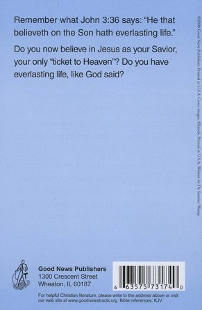 Your Ticket to Heaven (KJV), 25 Pack
