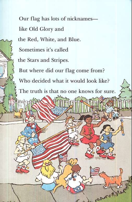 All Aboard Reading, Station Stop 2: Red, White, and Blue, The  Story of the American Flag