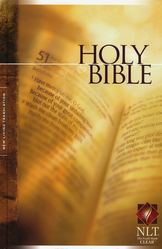 NLT Holy Bible Text Edition, Hardcover