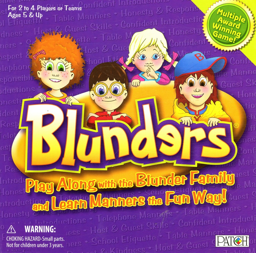 Blunders: We Make Learning Manners Fun!