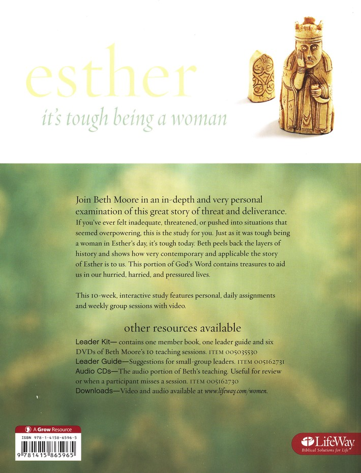 Esther: It's Tough Being a Woman - DVD Leader Kit
