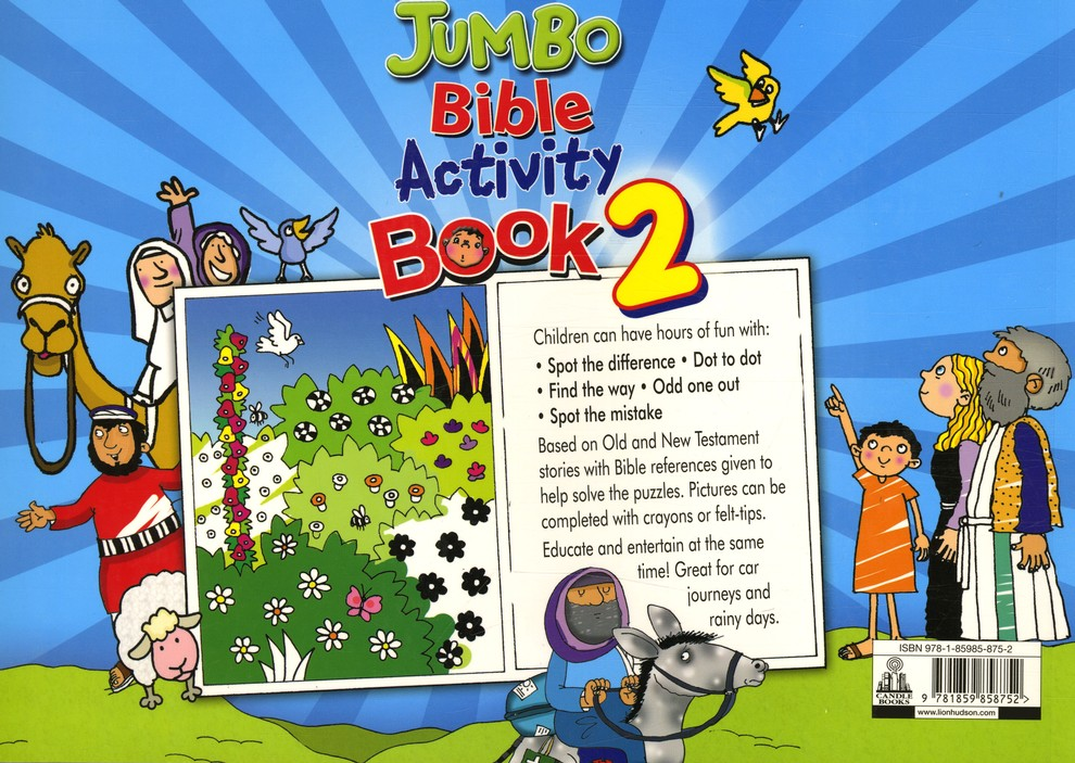 Jumbo Bible Activity Book 2