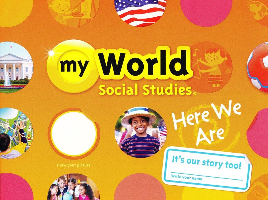 myWorld Social Studies Grade K Homeschool Bundle