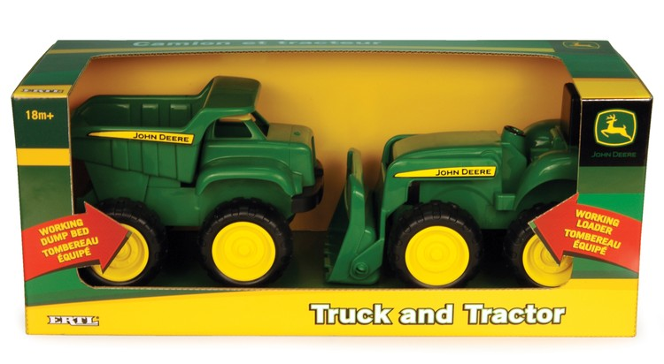 John Deere - 6 In. Tractor and Dump Truck