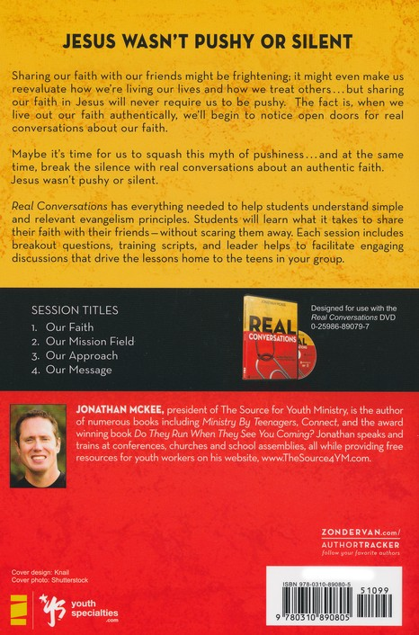 Real Conversations Participant's Guide: Sharing Your Faith Without Being Pushy
