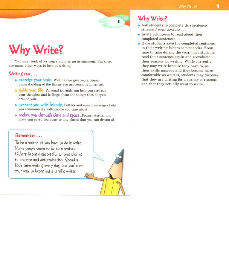 Write Source Grade 4 Homeschool Package