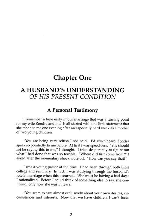 The Exemplary Husband, Revised