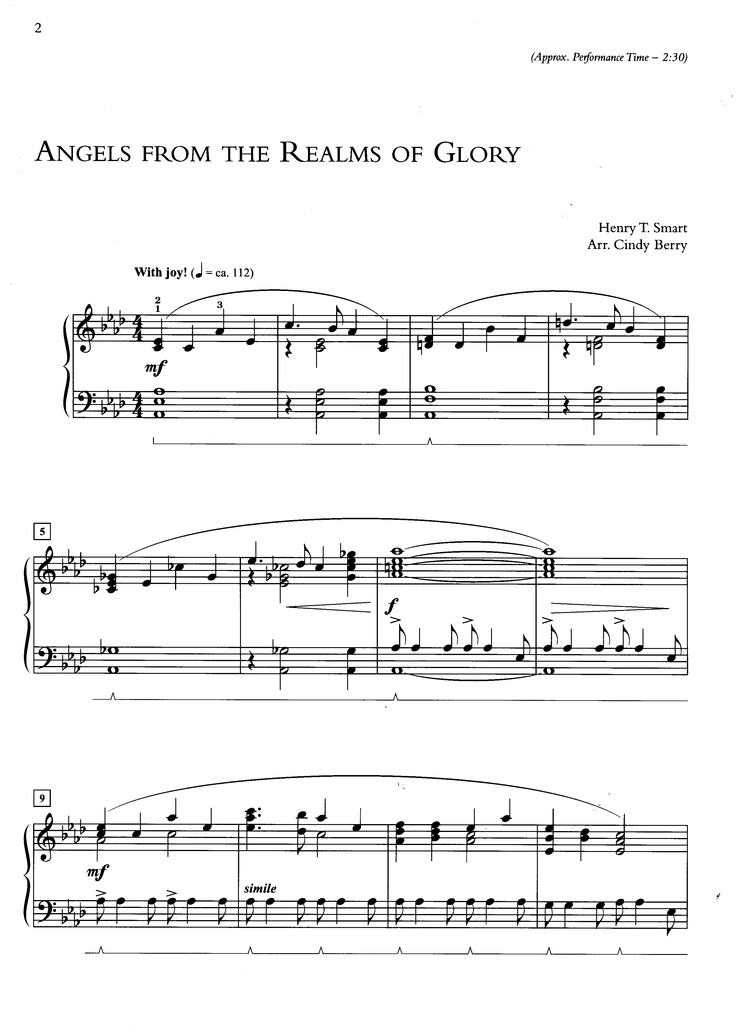 What Can I Play for Christmas? 10 Easily Prepared Piano Arrangements