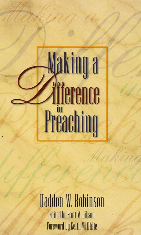 Making a Difference in Preaching