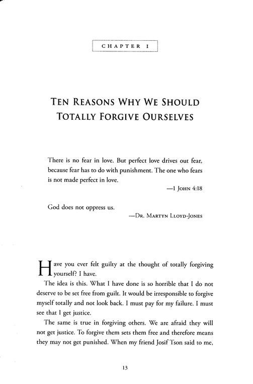 How to Forgive Ourselves--Totally: Begin Again by Breaking Free from Past Mistakes