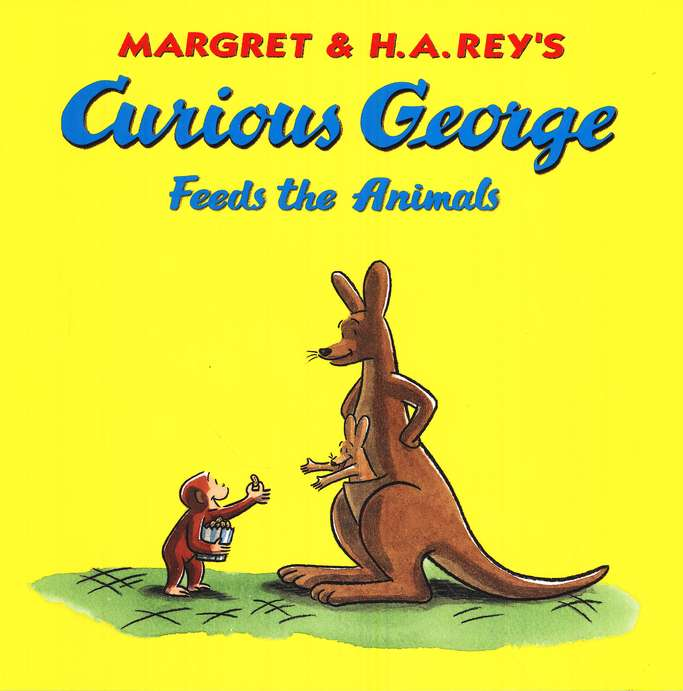 Curious George Feeds the Animals Softcover