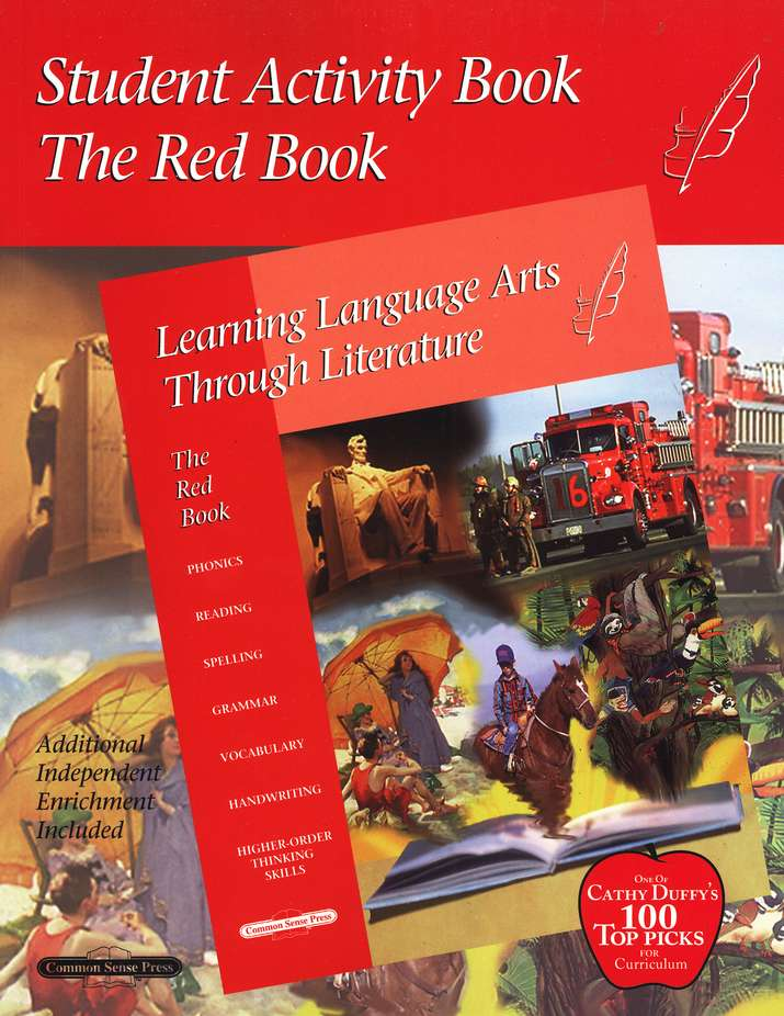 Learning Language Arts Through Literature, Grade 2, Activity Red