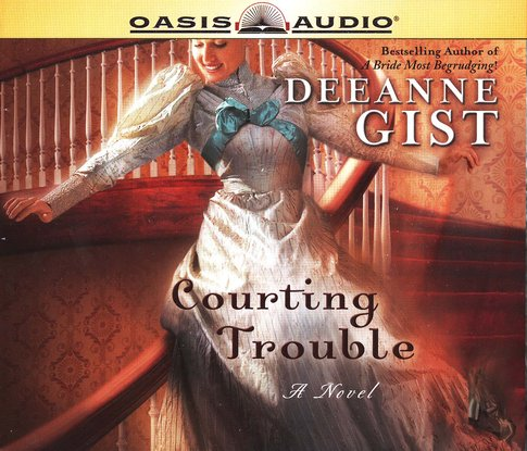 Courting Trouble Audibook on CD
