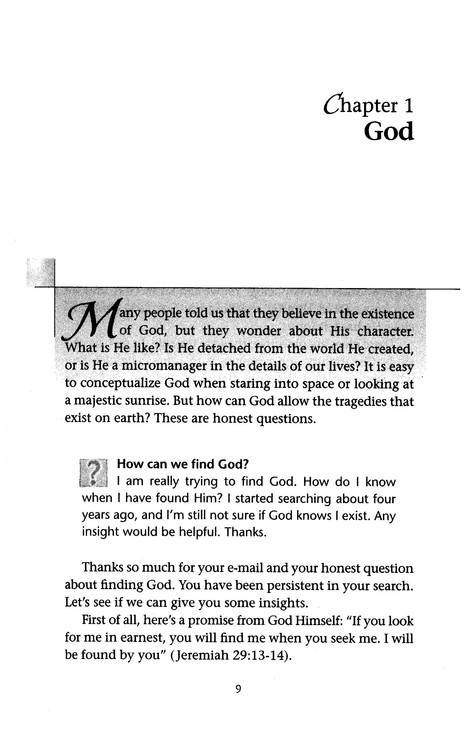 Bible Answers 101: A User-Friendly Guide to Life's Biggest Questions